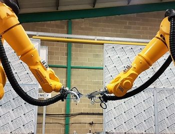 FAT For New Dual Robot Inspection System