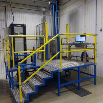 Installation of special purpose system for composites