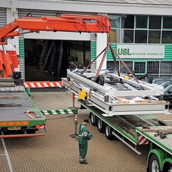 New 10 Axis Complex Geometry System Leaving USL Factory