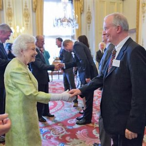 USL director meets the queen